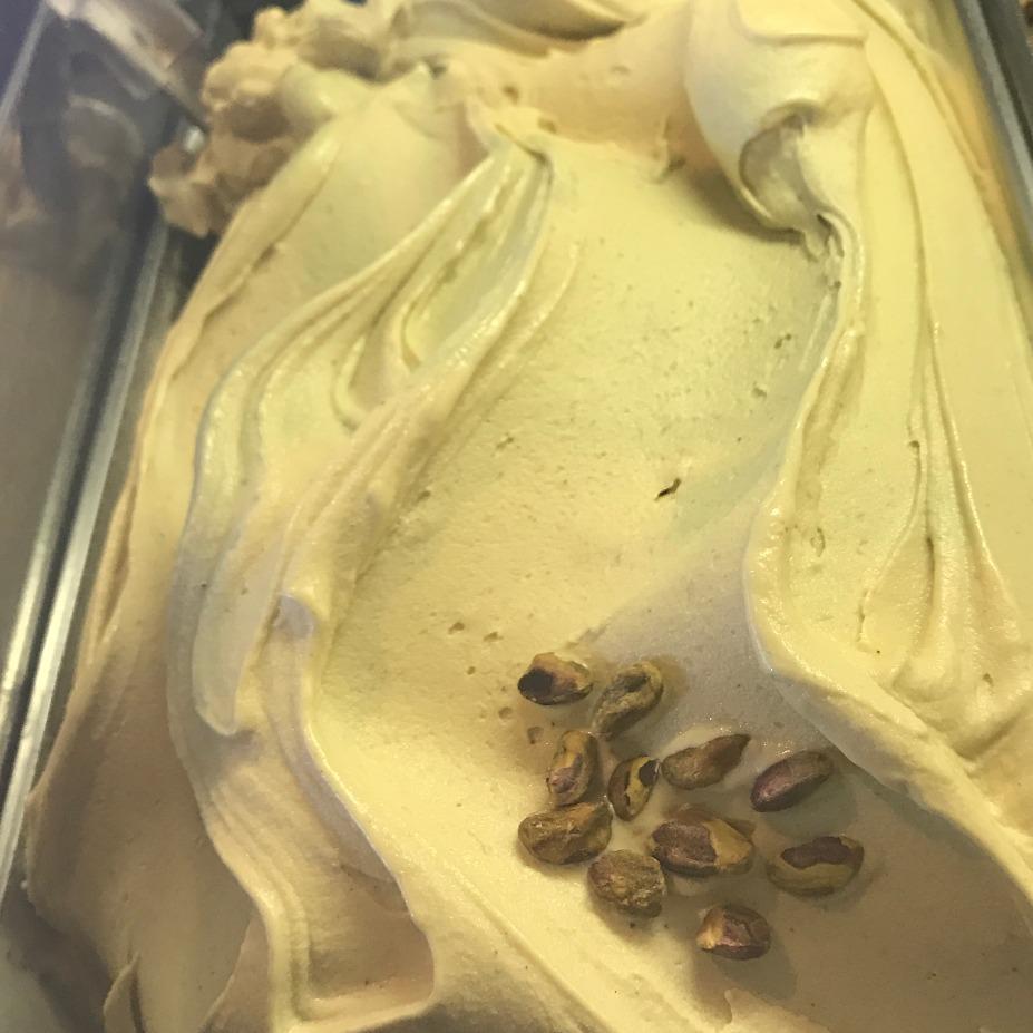 Almond Milk Pistachio